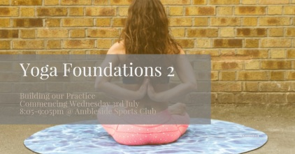Yoga Foundations 2